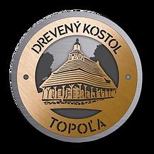 Drevený kostolík Topoľa