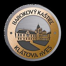 Barokový kaštieľ Klátova Nová Ves Ponitrie