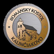 Románsky kostol Kalinčiakovo Levice Pohronie