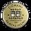 kovová minca s magnetom