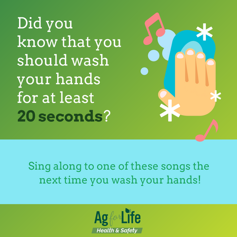 Proper Hand Washing Techniques & Sing-Along Songs!