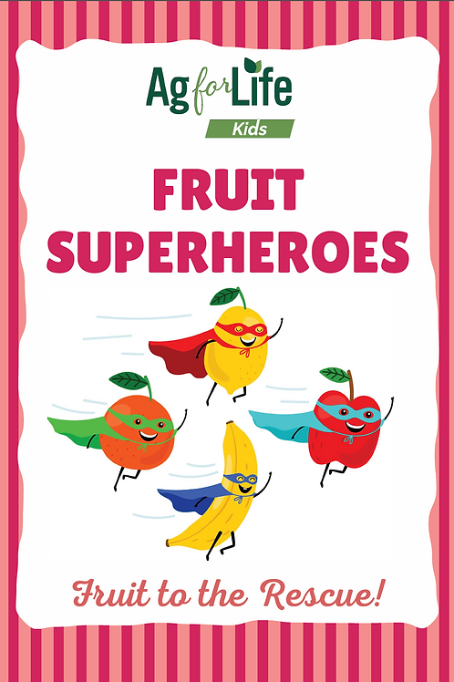 Fruit Superheroes Print Edition