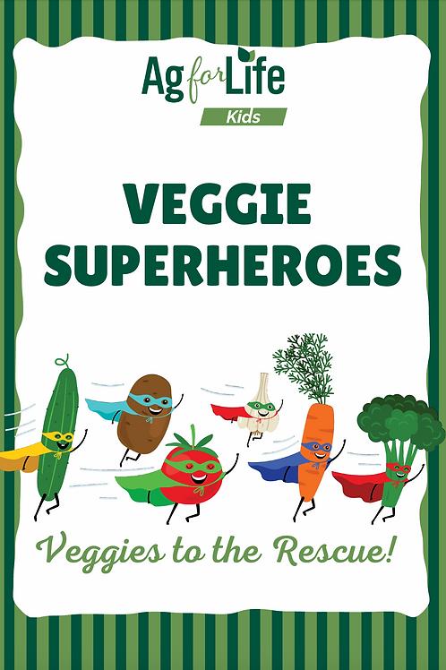 Veggie Superheroes Print Edition