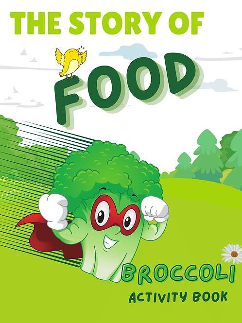 The Story of Food - Broccoli Digital Download
