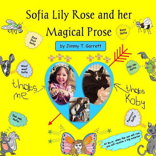 Paperback book - Sofia Lily Rose and her Magical Prose