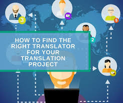 How to Find a Translator for Your Translation Project