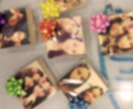 בלוק עץ עם תמונה - בלוק לאירועים
