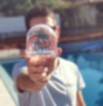 כדור שלג עם תמונה