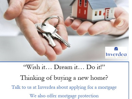 Talk to us about applying for a Mortgage, initial consultation at our expense!