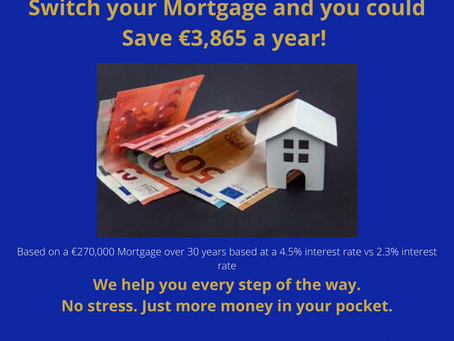 Switch your Mortgage and Save!
