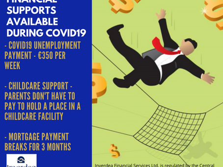 Financial Supports available during COVID 19