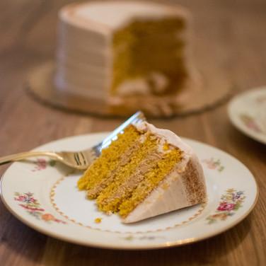 Pumpkin Spice Latte Cake