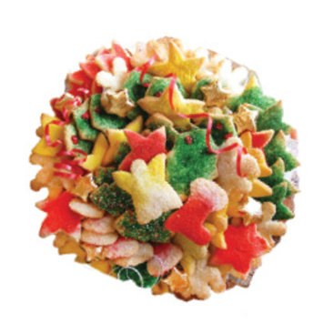 3lb. Holiday Cookie Tray - Approx. 75