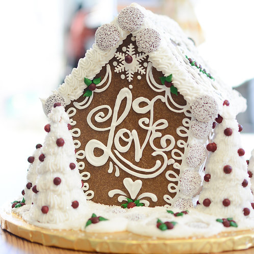 Large  Gingerbread House Decorating Kit
