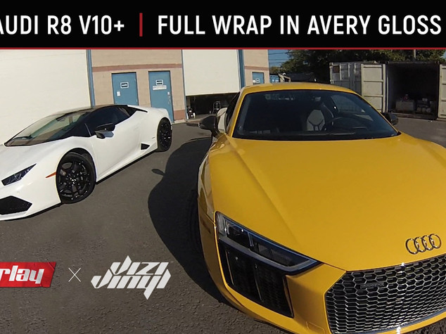 Audi R8 Wrap - Light Grey