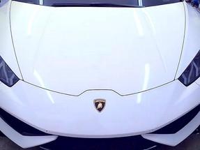 Lamborghini Huracan Wrap - Gloss White