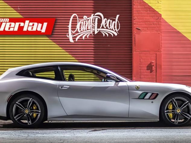 Ferrari GTC4 Lusso Wrap - Satin Pearl White