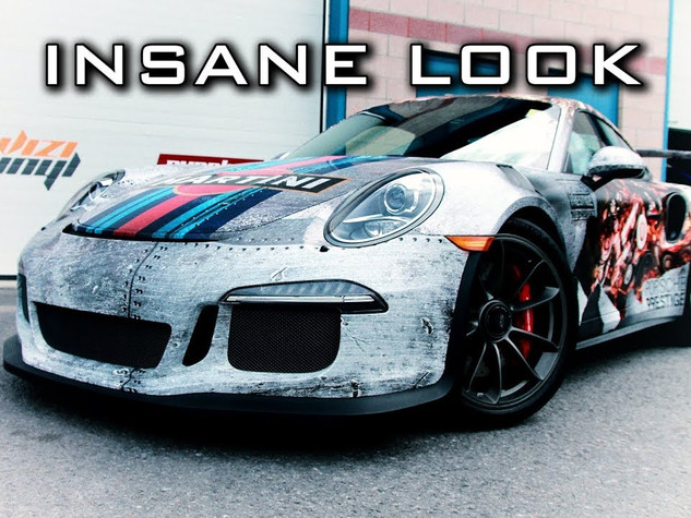 Porsche GT3RS Wrap - Custom Design