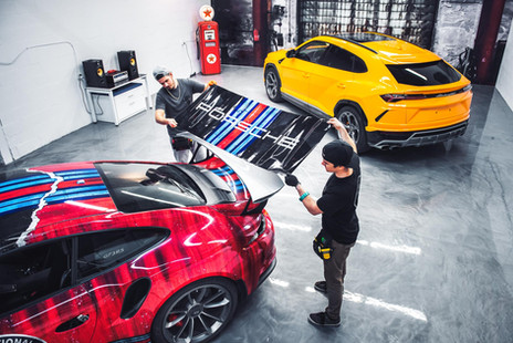 Vinyl Car wrap services in Montreal