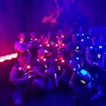 Lasertag med Klubb Spektakel
