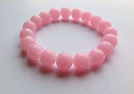 Браслет из Розовый кварц
