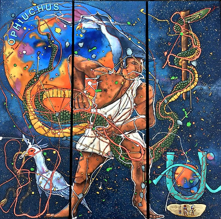 Ophiuchus, : le Serpentaire