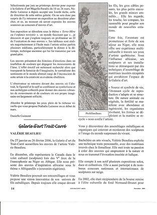 Les Racont'arts 2006