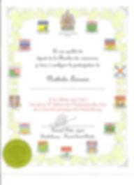 Certificat 2010