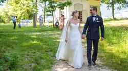 Hochzeitspaar auf der St. Petersinse