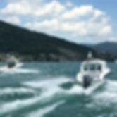Wassertaxi auf dem Weg zur St.Petersinsel