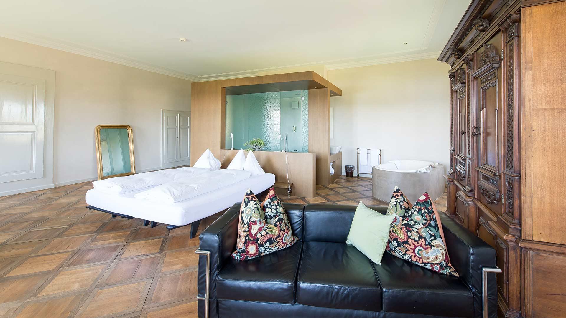Hotelzimmer auf der St.Petersinsel
