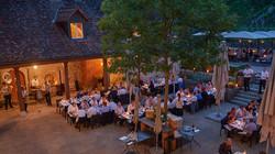 Aussenbereich Restaurant
