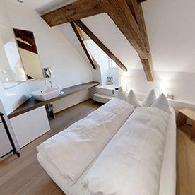 Rebberg Zimmer im Klosterhotel St. Petersinsel