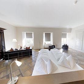 Moderne Suite im Klosthotel St.Petersinsel