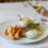 Mittagskarte im Restaurant St.Petersinsel