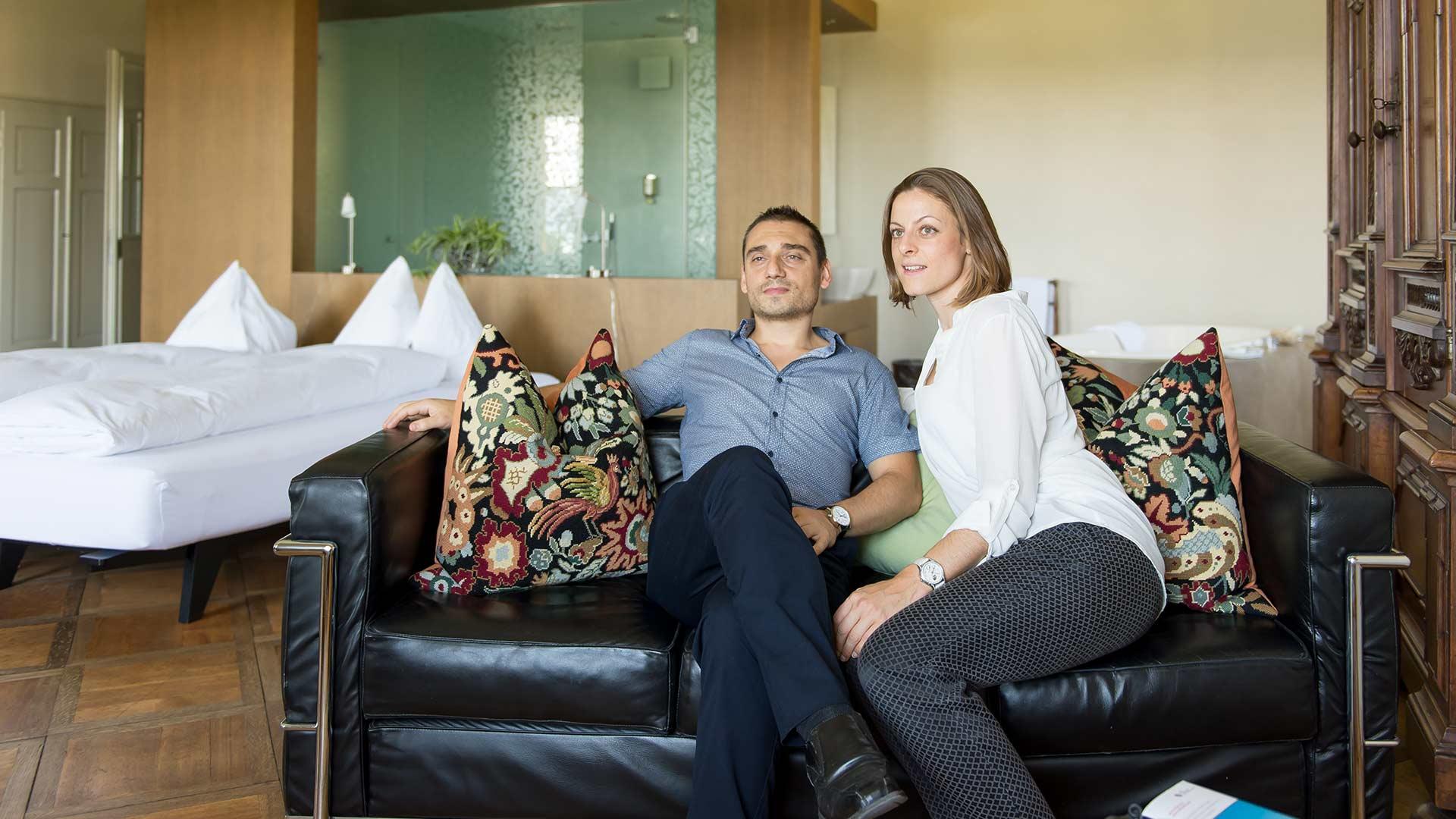 Gäste in der Modernen Suite