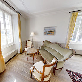 Kloster-Suite im Klosthotel St.Petersinsel