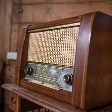 Antiker Radio