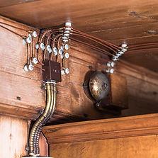Antike elektrische Leitung