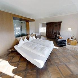 Moderne Suite im Klosterhotel St.Petersinsel