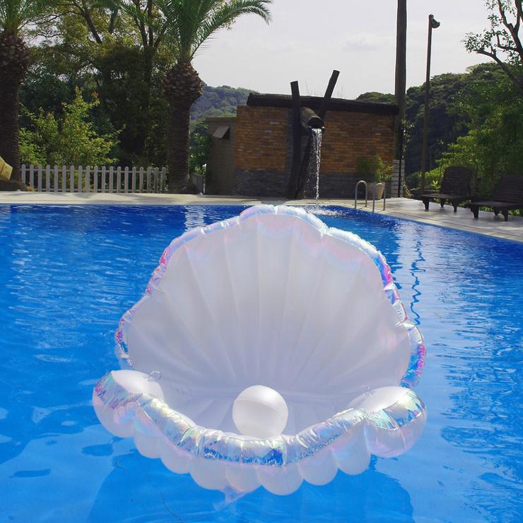 pucapuca貝殼漂浮泳圈