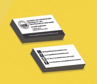 Quabbin Art Association Business Cards