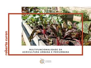 Multifuncionalidade da Agricultura Urbana e Periurbana.