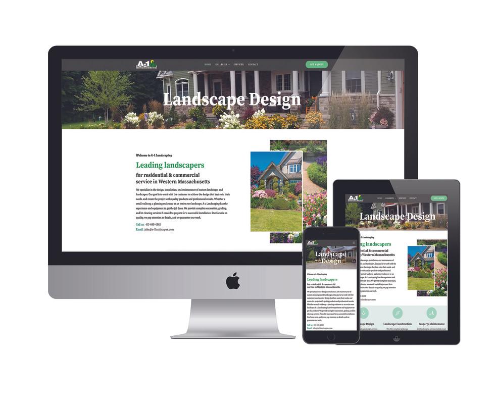 A-1 Landscaping Website