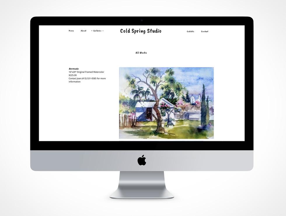 Cold Spring Studio Website