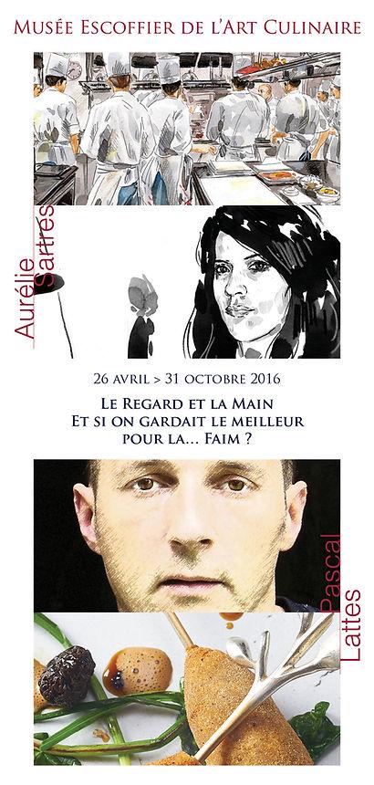 """Visuel - Exposition """"Le Regard et la Main [...]"""""""
