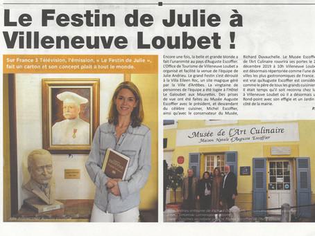 Le Festin de Julie à Villeneuve-Loubet