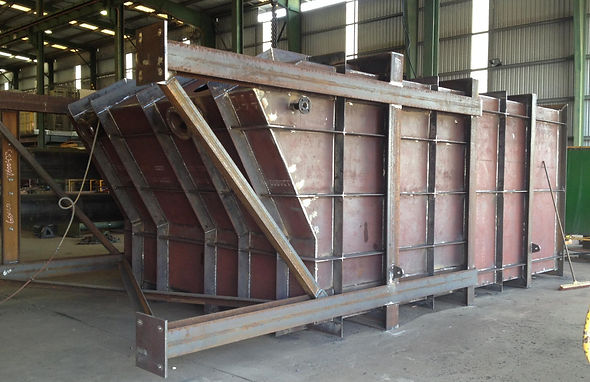 Reflux classifier fabricated for Grote Eylandt