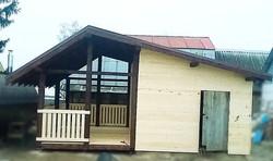 Пристройка к дому в Озёрах