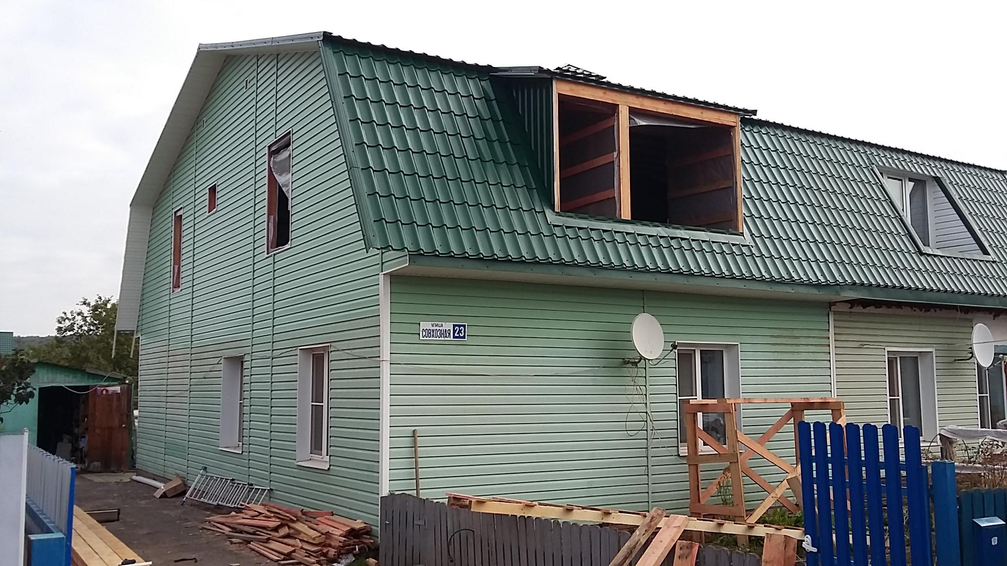Ремонт крыши в Кашире